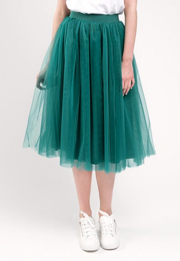 женская юбка gee!, зеленая