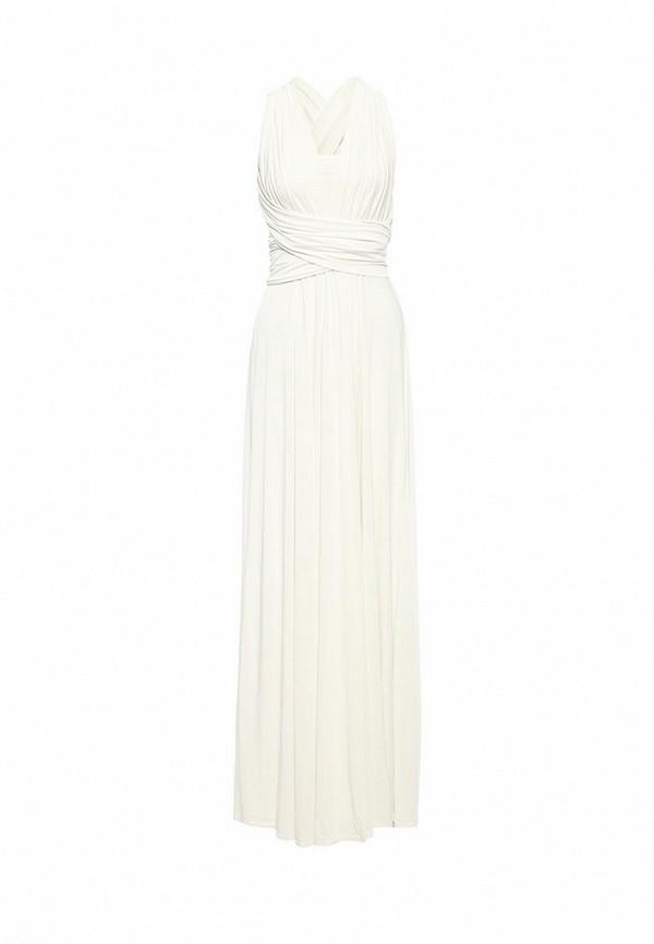 женское вечерние платье zerkala, белое