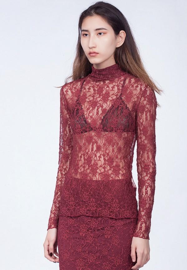 мужская блузка omero, красная