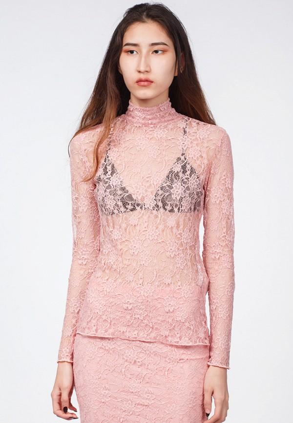 мужская блузка omero, розовая