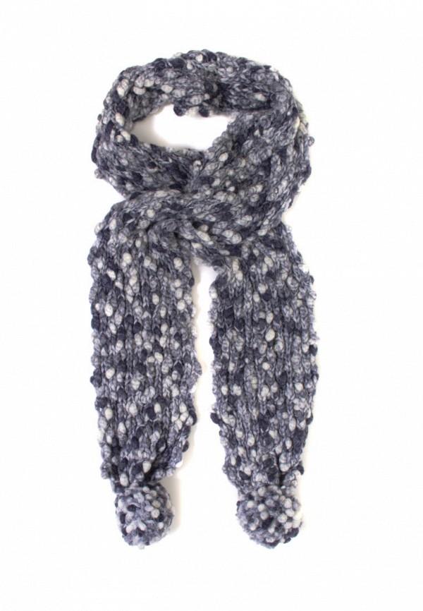 женский шарф anna bask, синий