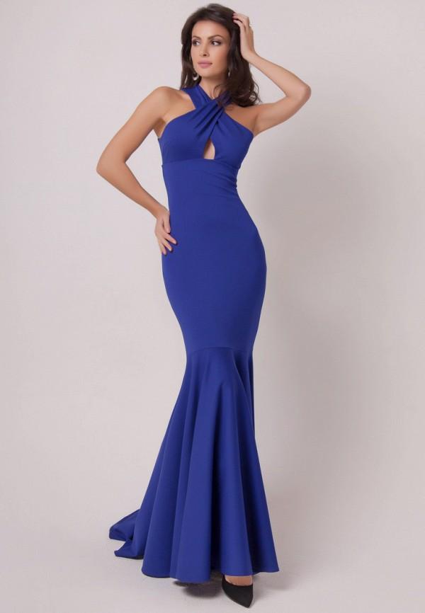 Купить Платье Olga Skazkina, MP002XW1AFKZ, синий, Осень-зима 2017/2018