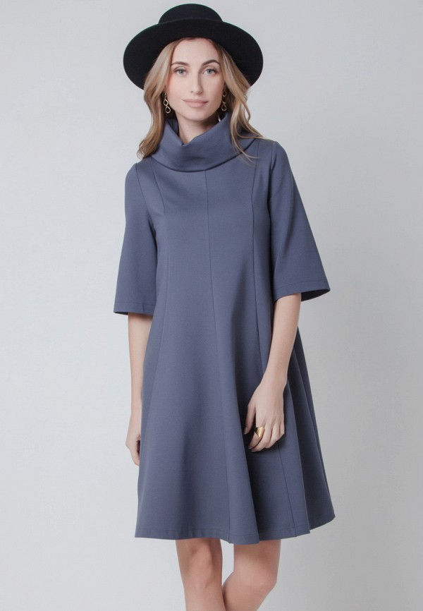 Купить Платье Olga Skazkina, mp002xw1afl7, серый, Осень-зима 2017/2018