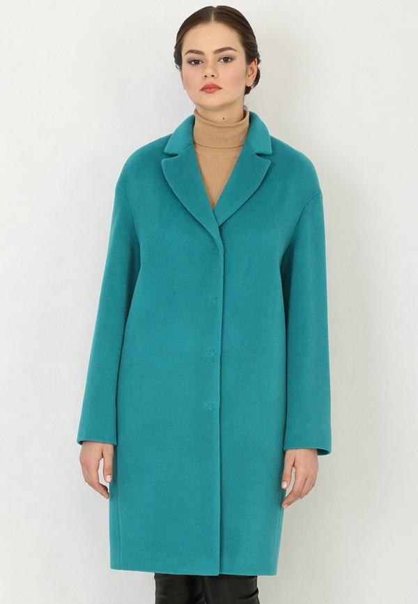 Купить Пальто Trifo, mp002xw1agyd, бирюзовый, Осень-зима 2017/2018