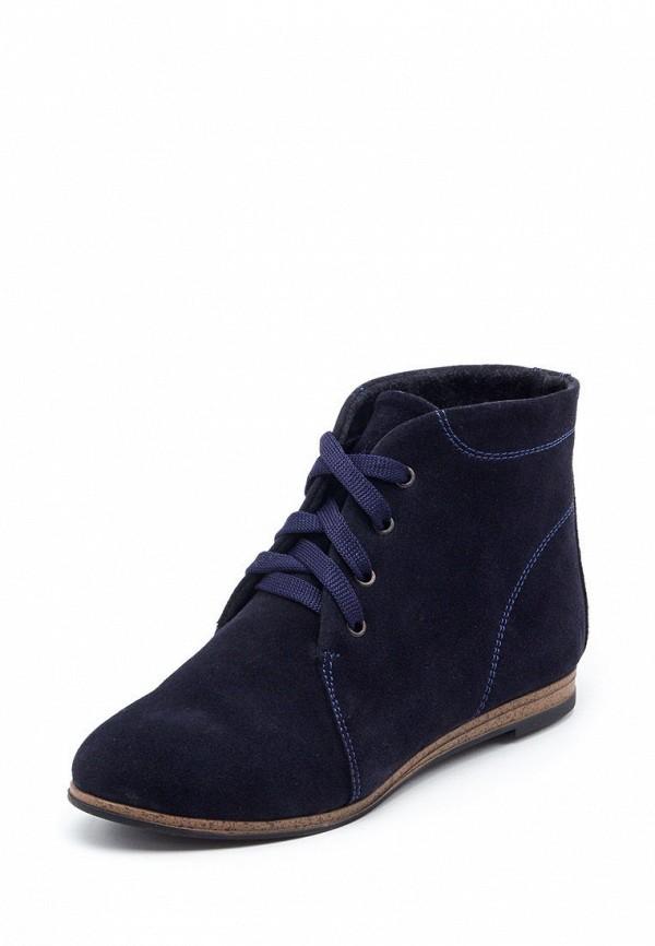 женские ботинки tops, синие