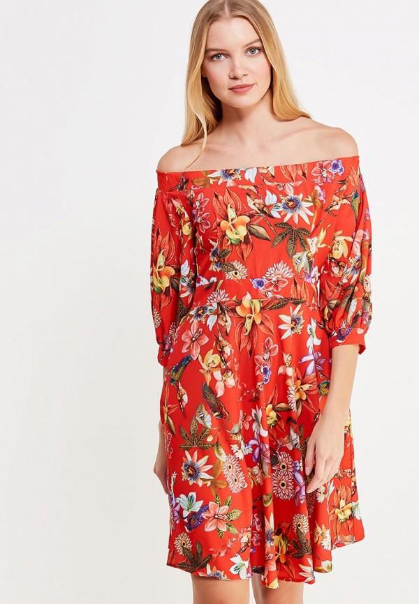 Платье be in... be in... MP002XW1AI3O be nice красный цвет