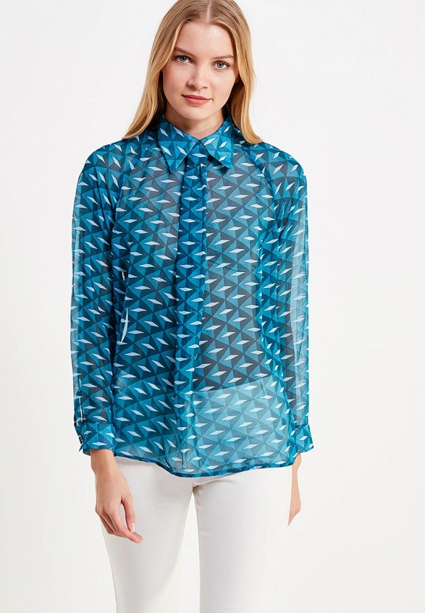 Купить Блуза be in..., MP002XW1AI4A, голубой, Осень-зима 2017/2018