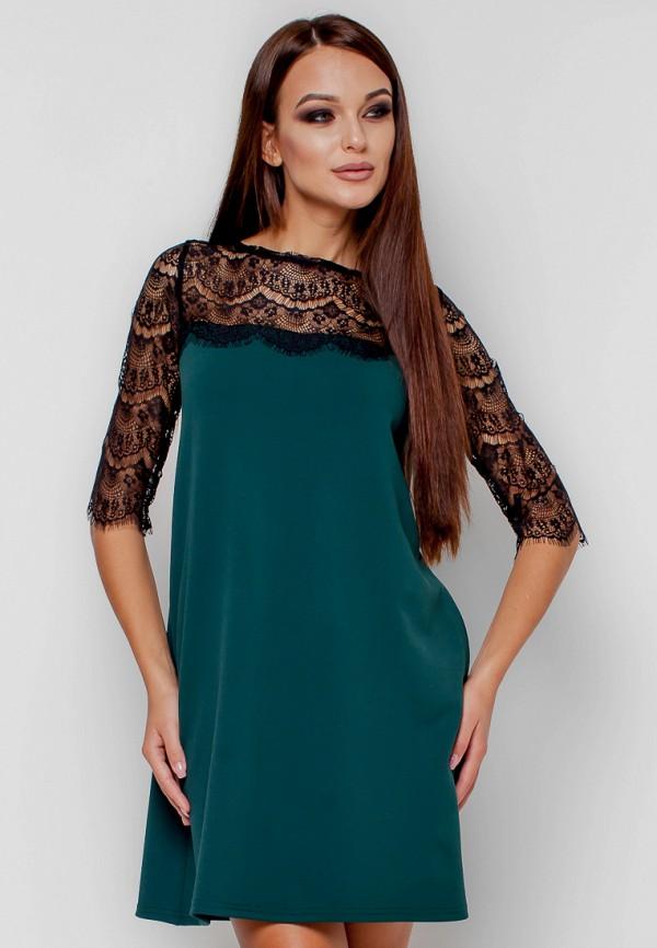 женское вечерние платье karree, зеленое