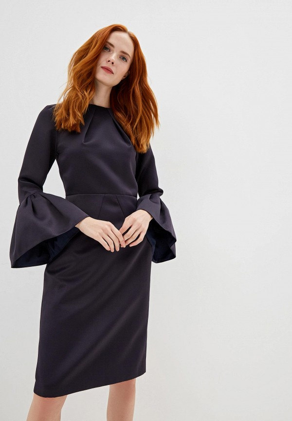Платье Cavo Cavo MP002XW1AIGQ полуприлегающее платье с длинным поясом cavo