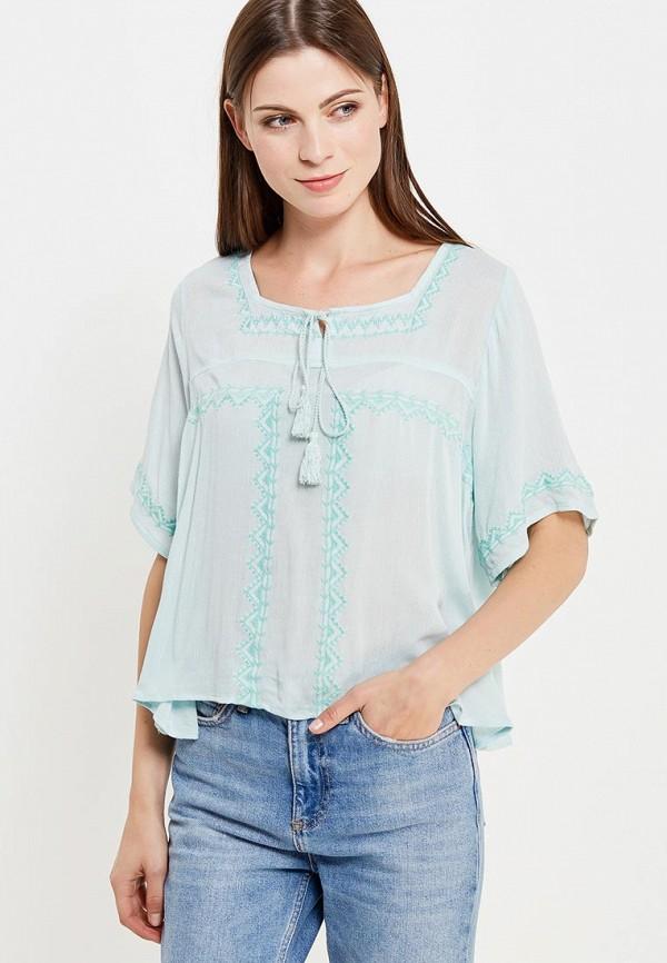 Купить Блуза Colin's, mp002xw1airm, бирюзовый, Весна-лето 2019