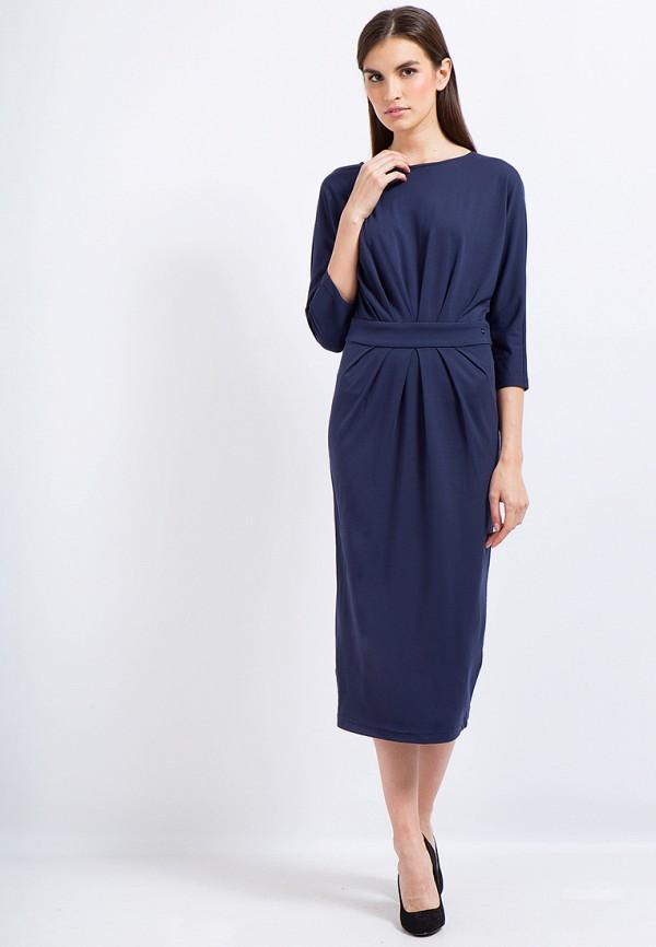 Купить Платье Finn Flare, CHAPURIN for FINN FLARE, MP002XW1AIXP, синий, Осень-зима 2017/2018