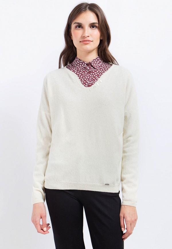 Пуловер Finn Flare, MP002XW1AIY0, бежевый, Осень-зима 2017/2018  - купить со скидкой