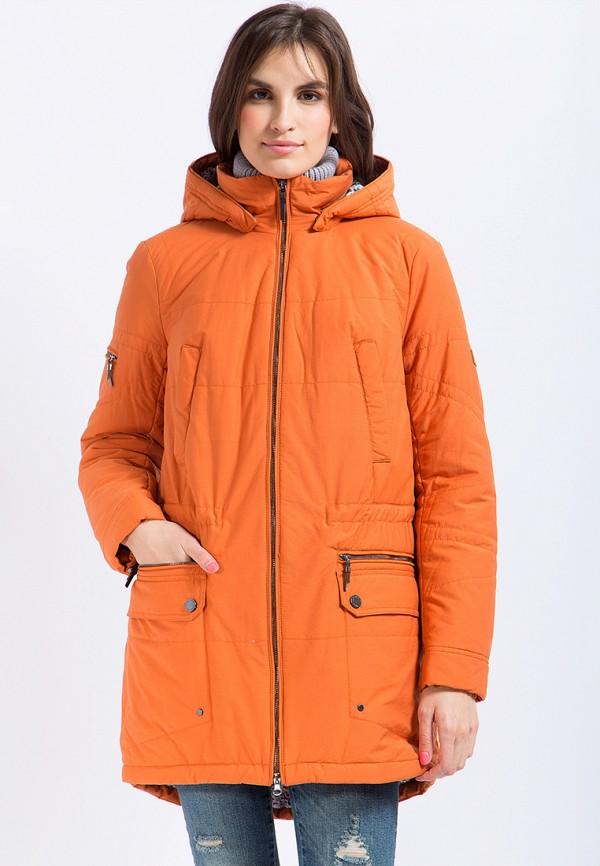 Куртка утепленная Finn Flare, MP002XW1AJ0R, оранжевый, Осень-зима 2017/2018  - купить со скидкой