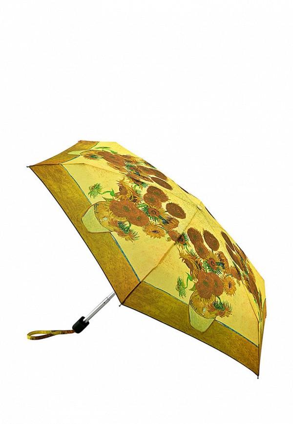 женский зонт fulton, желтый