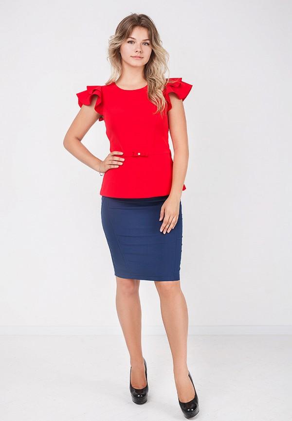 Фото 7 - женскую юбку Zubrytskaya синего цвета