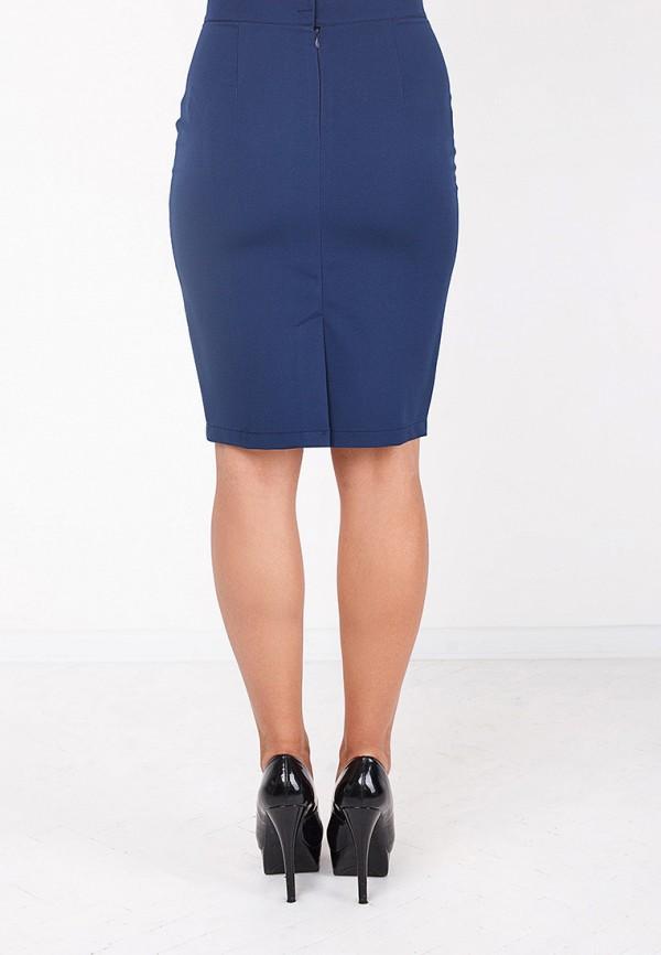 Фото 9 - женскую юбку Zubrytskaya синего цвета