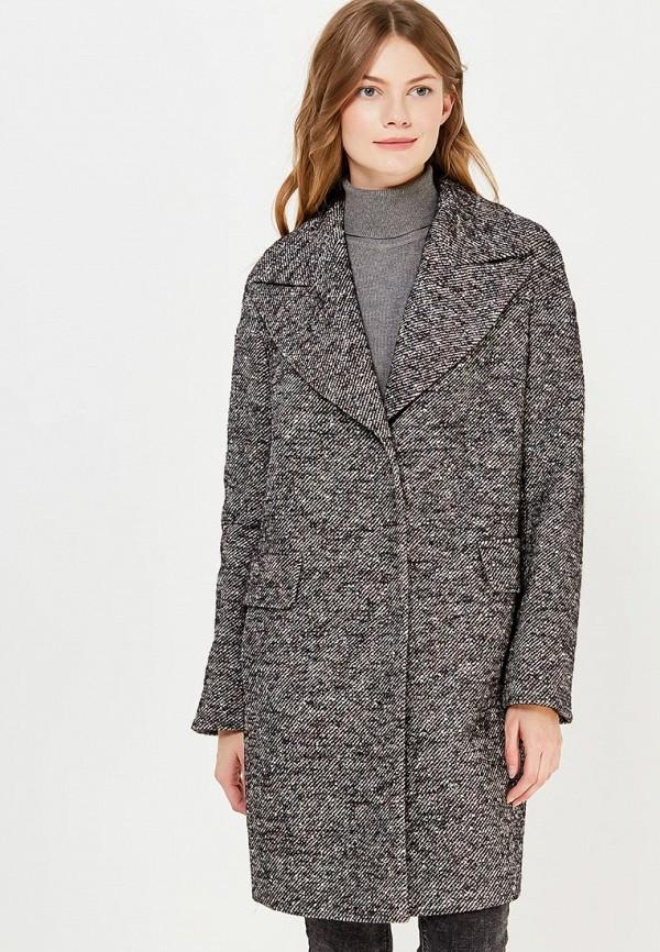 женское пальто azell'ricca, серое