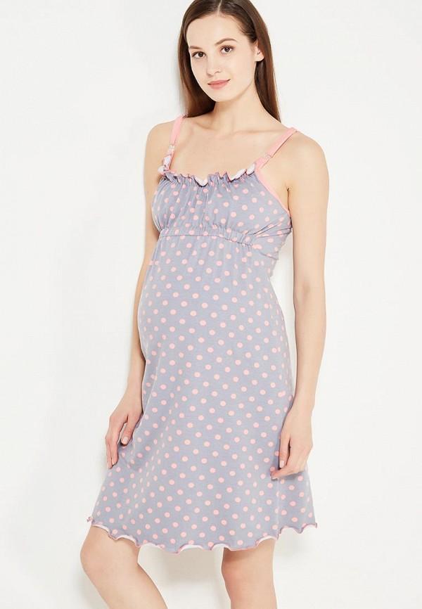 Сорочка ночная Hunny mammy Hunny mammy MP002XW1AKDO комплект одежды для беременных и кормящих hunny mammy халат сорочка ночная цвет бирюзовый серый 1 нмк 08520 размер 50