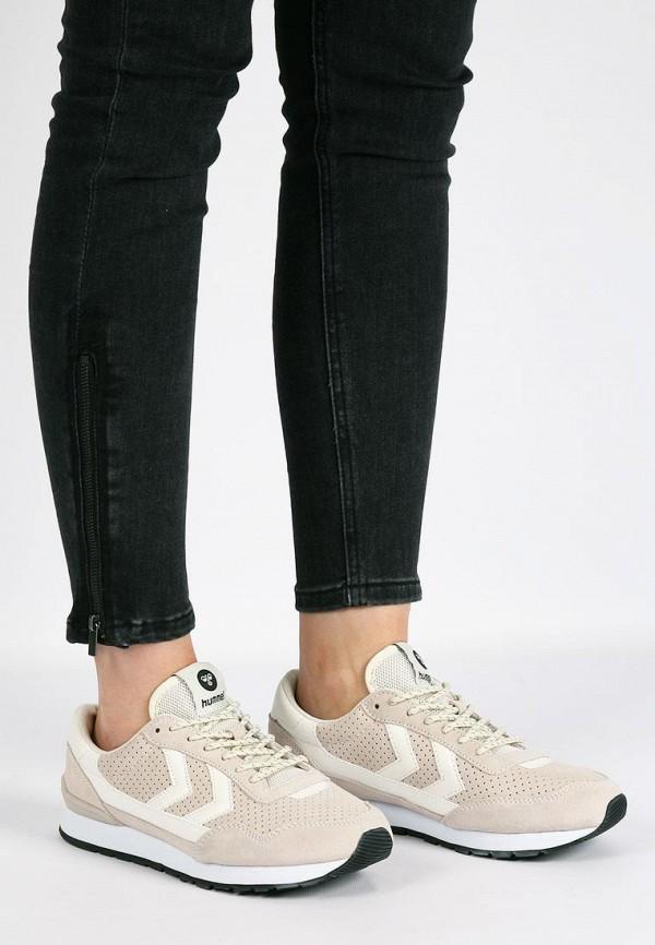 Фото 20 - женские кроссовки Hummel бежевого цвета