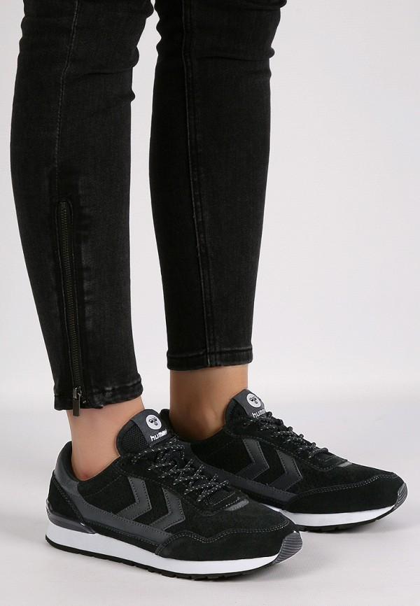 Фото 15 - женские кроссовки Hummel черного цвета