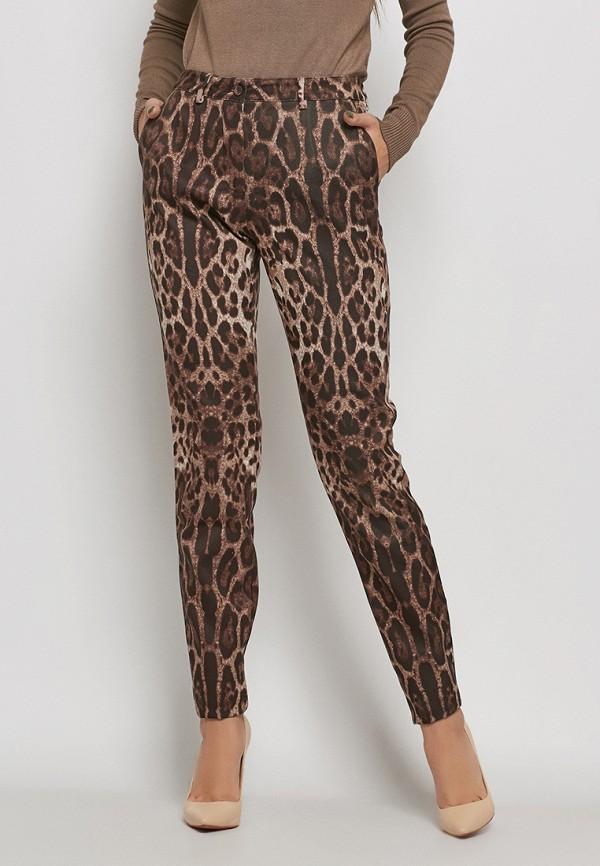 мужские зауженные брюки nothing but love, коричневые