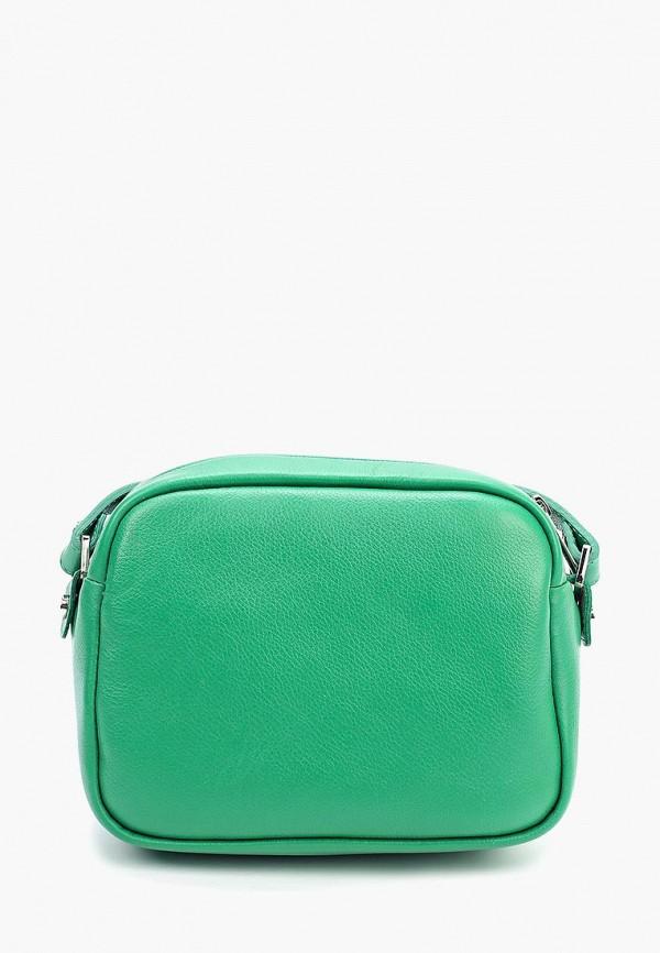 женская сумка fabula, зеленая