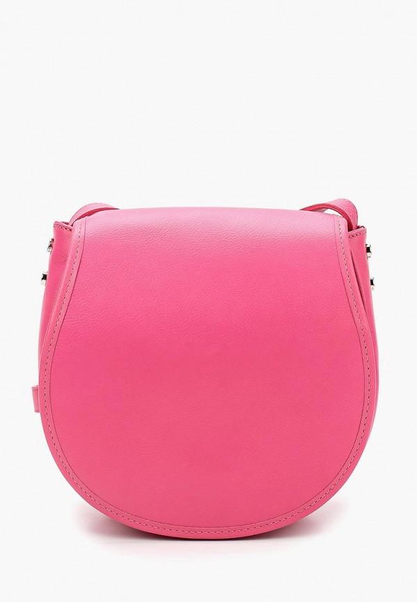 женская сумка fabula, розовая