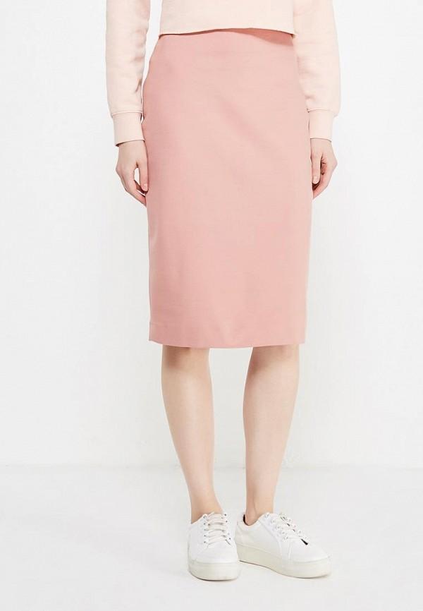 женская прямые юбка imago, розовая