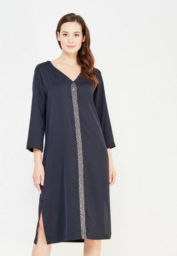 женское повседневные платье imago, синее