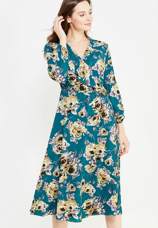 женское повседневные платье imago, бирюзовое