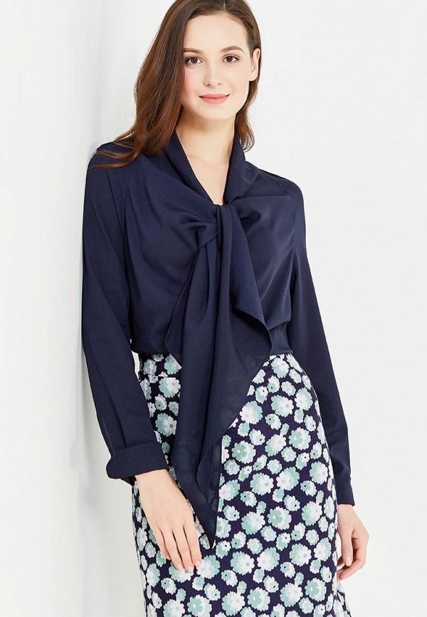 женская блузка imago, синяя