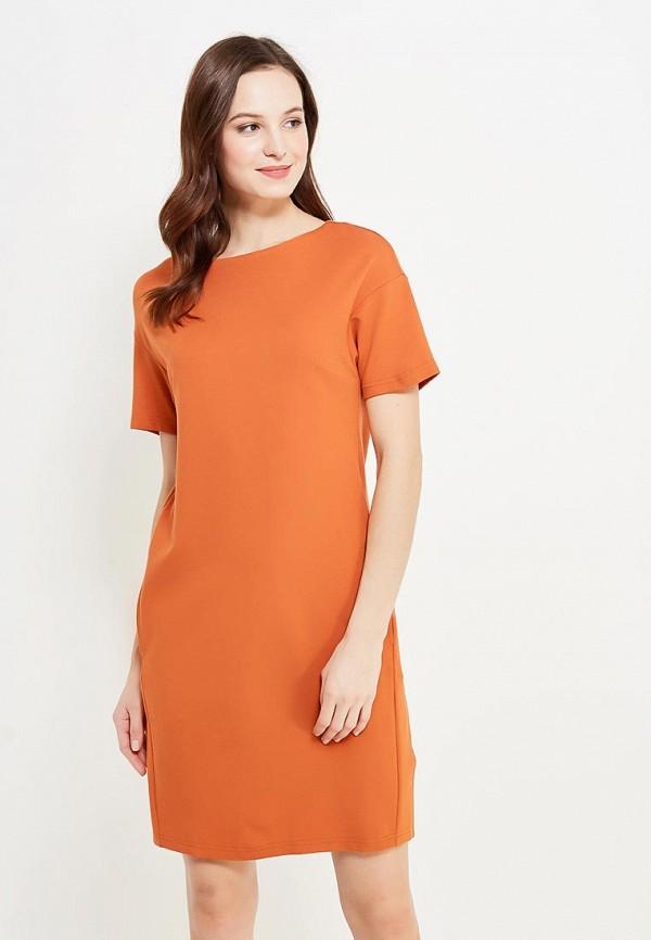 женское повседневные платье imago, оранжевое