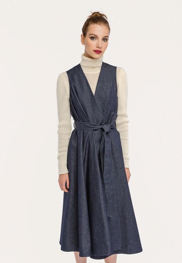 Платье джинсовое Stimage Stimage MP002XW1AMT6 stimage жилет long vest