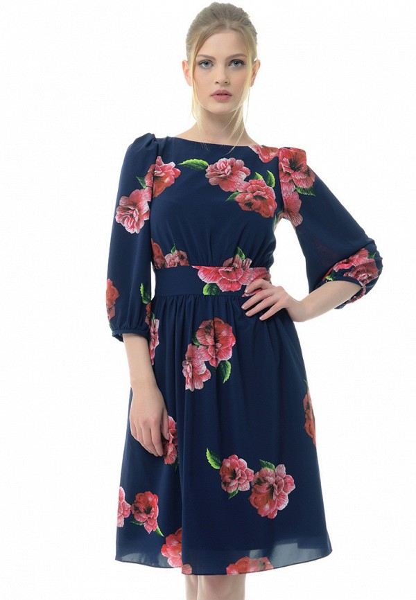 Купить Платье Arefeva, mp002xw1amu0, синий, Осень-зима 2017/2018