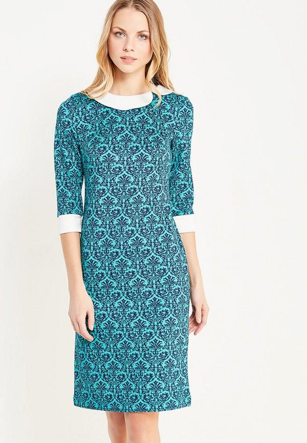 Купить Платье Арт-Деко, MP002XW1AMZC, бирюзовый, Осень-зима 2017/2018