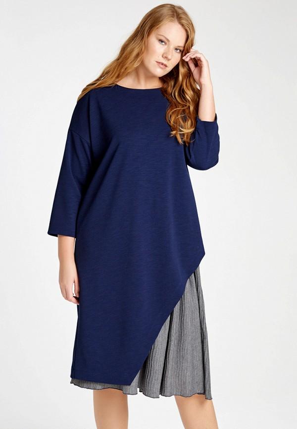 Купить Платье W&B, MP002XW1AN3Z, синий, Осень-зима 2017/2018