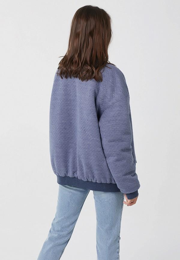 Фото 4 - Куртку утепленная Fly голубого цвета