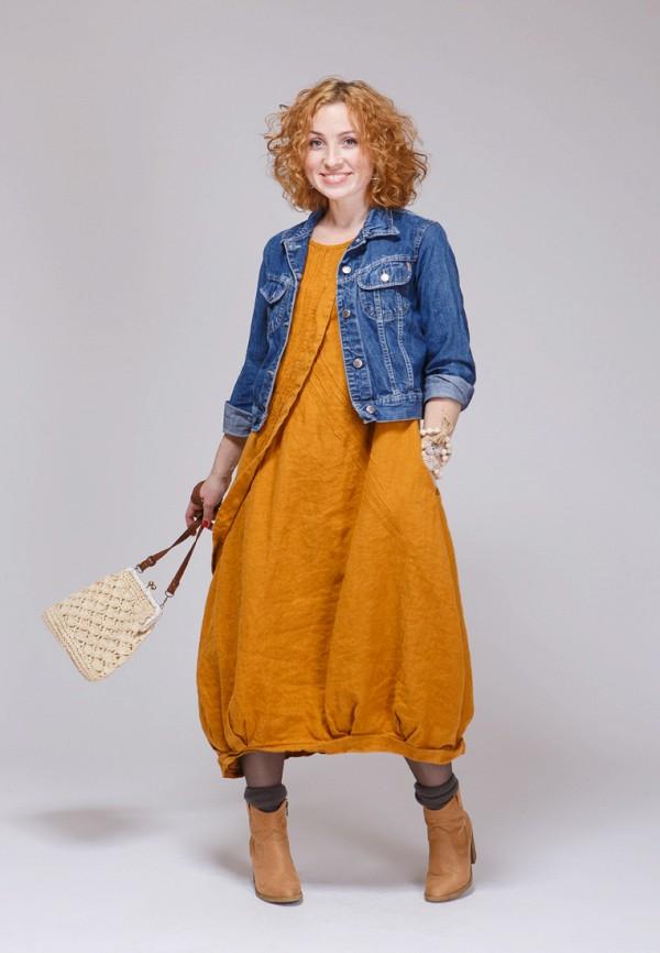 Купить Платье Kayros, mp002xw1ank1, оранжевый, Осень-зима 2017/2018