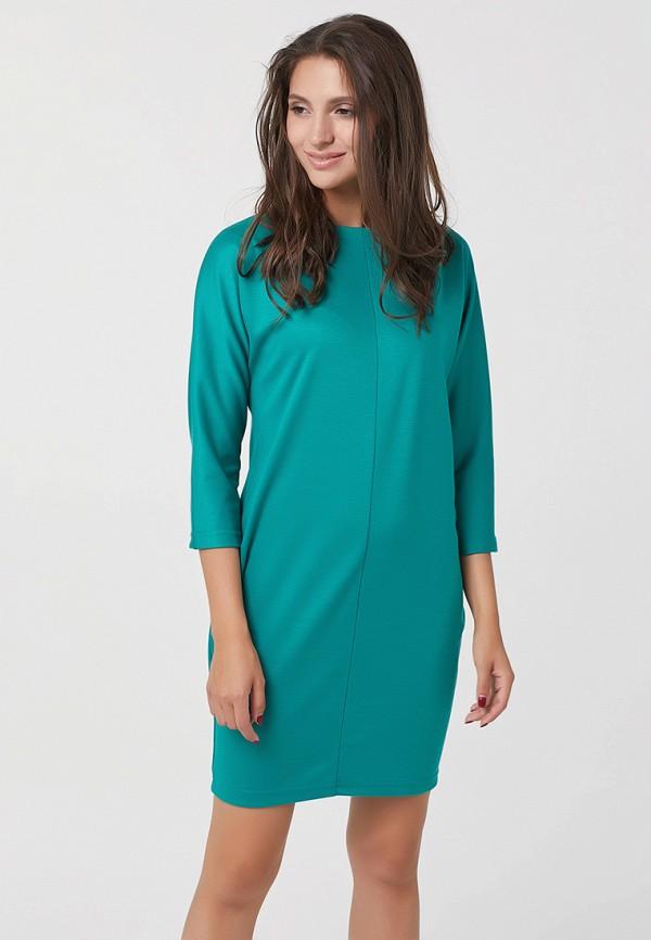 женское повседневные платье fly, бирюзовое