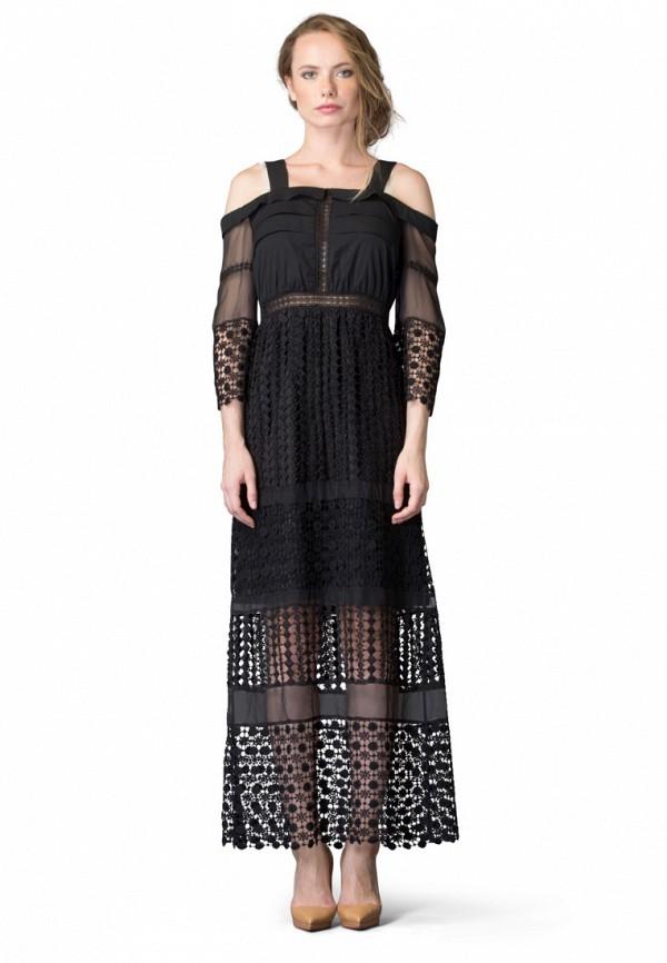 Платье Cavo, MP002XW1ANUH, черный, Осень-зима 2017/2018  - купить со скидкой
