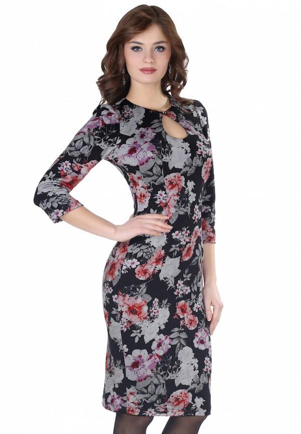 Купить Платье Grey Cat, ELVA, mp002xw1ao3p, черный, Весна-лето 2019