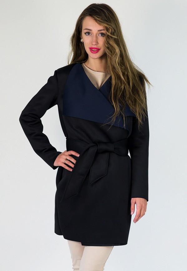мужское пальто подіум, черное