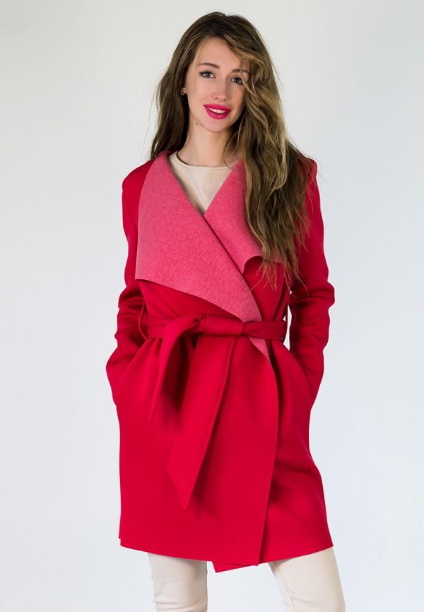 мужское пальто подіум, красное