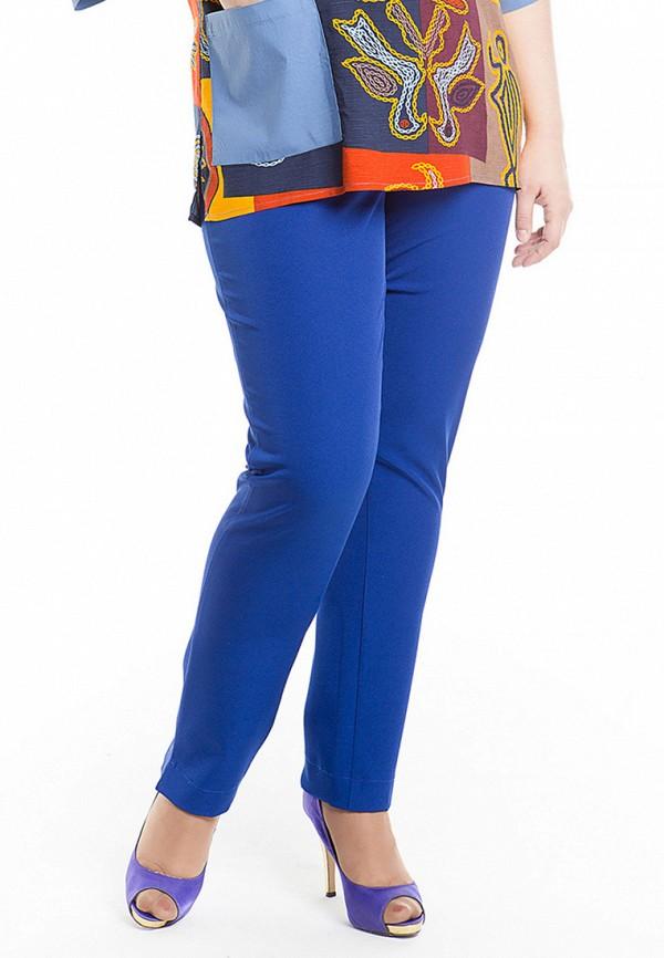 женские классические брюки luxury plus, синие