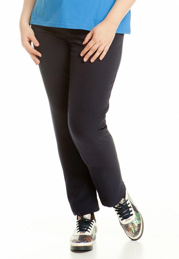 женские зауженные брюки luxury plus, синие