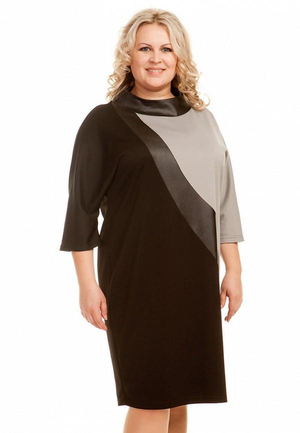 женское платье миди luxury plus, разноцветное