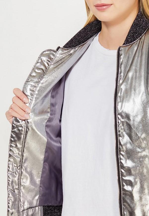 Фото 4 - Куртку Soeasy серебрянного цвета