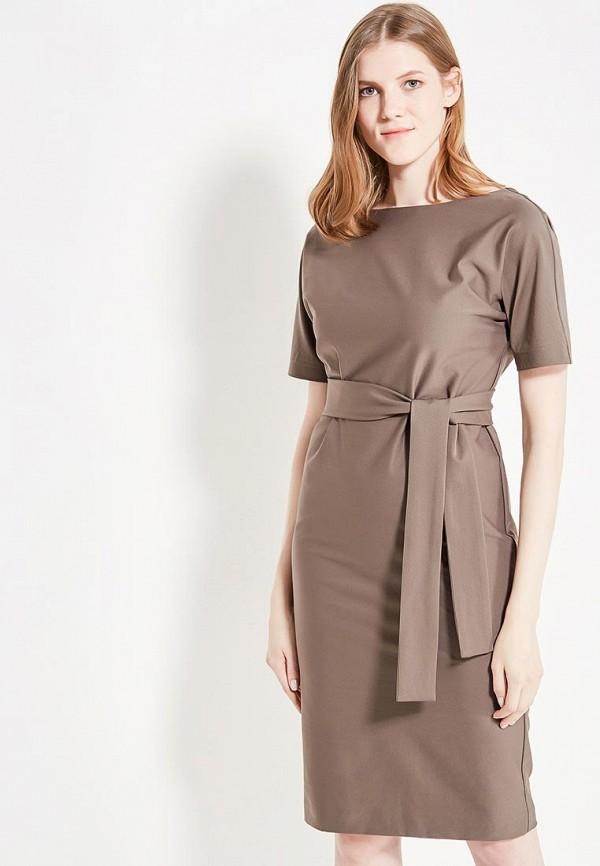 женское повседневные платье imago, коричневое