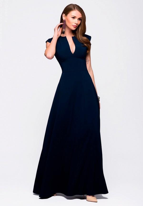 Платье D&M by 1001 dress, mp002xw1apnq, синий, Осень-зима 2018/2019  - купить со скидкой