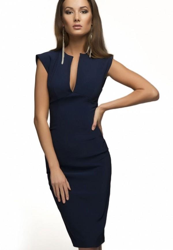 Купить Платье D&M by 1001 dress, mp002xw1apnv, синий, Осень-зима 2018/2019